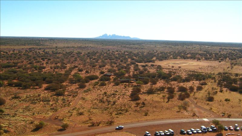 View of Kata Tjuta from Uluru