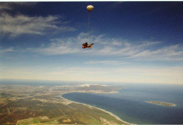 CAPE TOWN SKYDIVE - ECSTASY