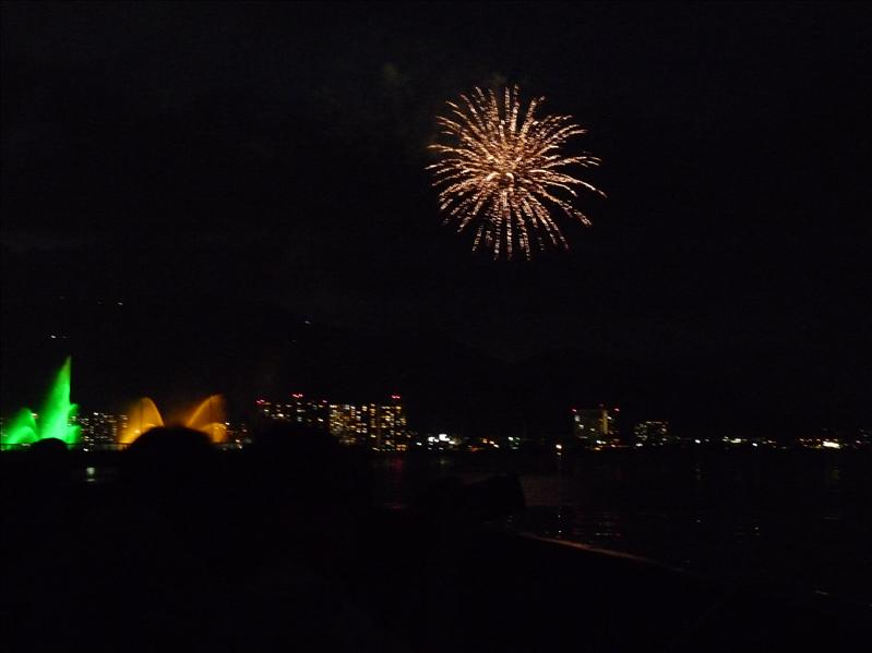 fireworks at biwako