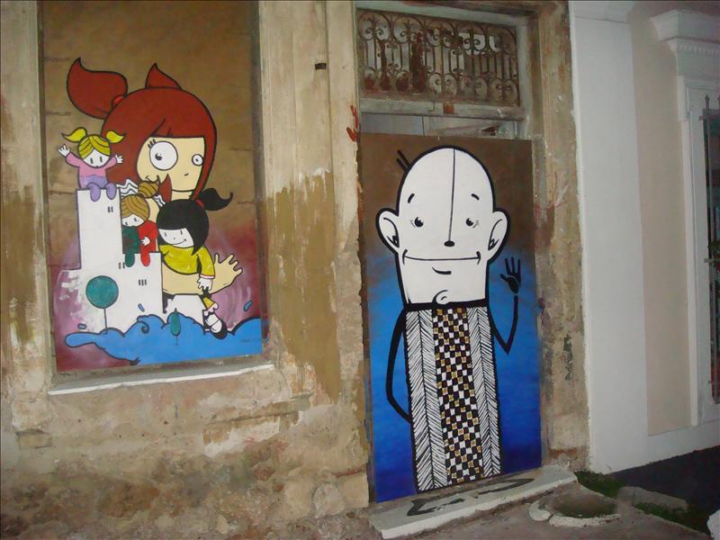 more graffiti...
