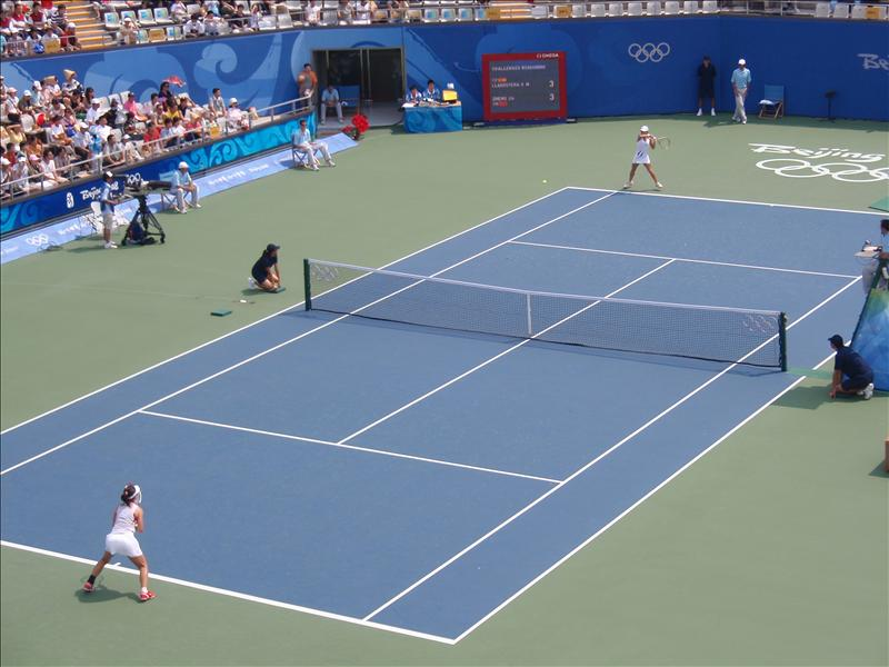 Chinese girl, who beat Venus in a later round, plays on No. 1 Court