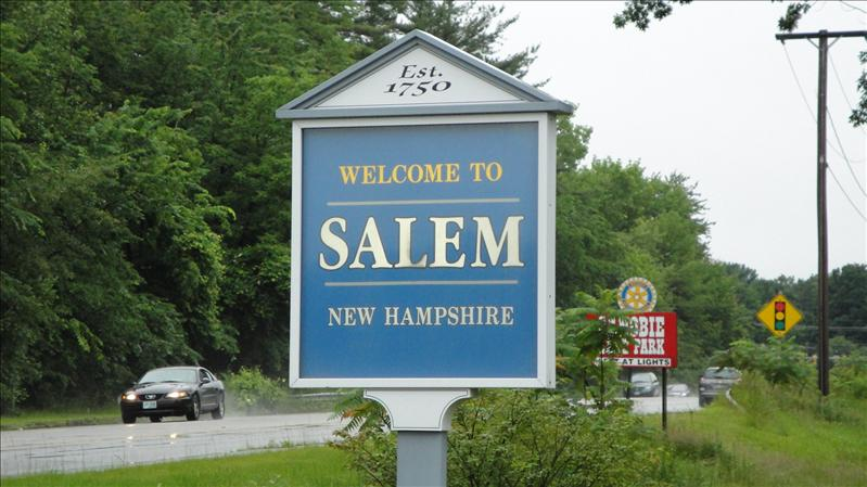 We spent a day in Salem, NH