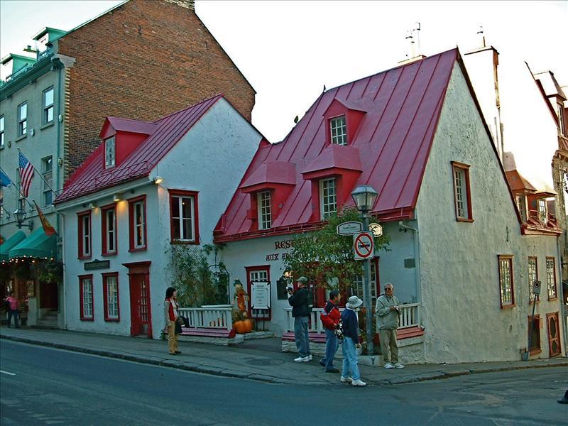 Cafe in Quebec City