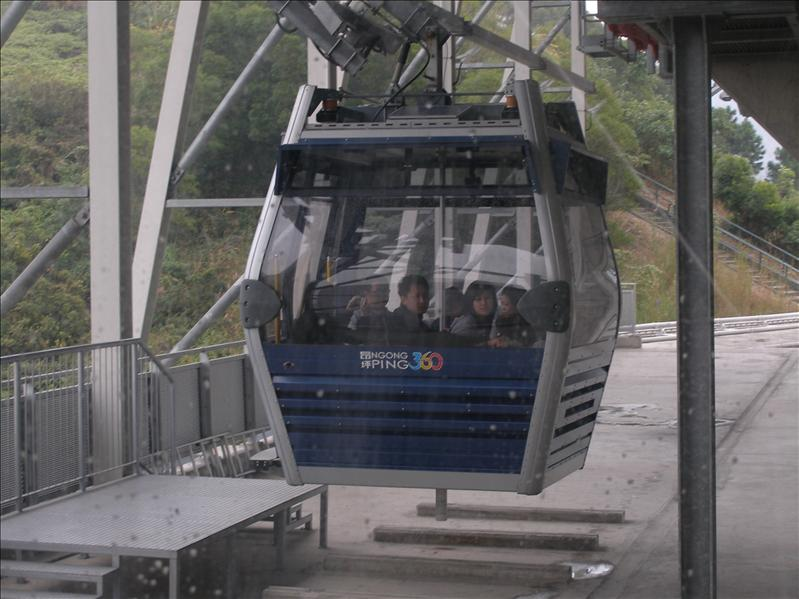 Cable Lift to the temple