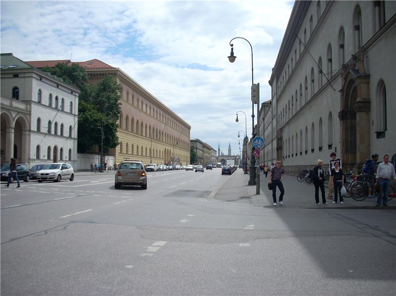 University of Munich promenade