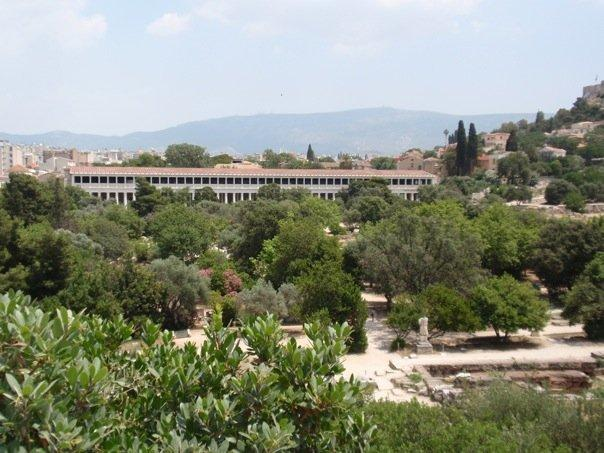 the restored stoa of attalus