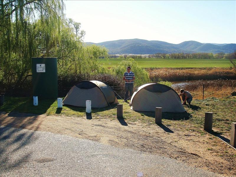 FREE camping, gotta love it!