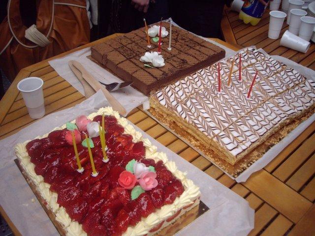 華麗的生日蛋糕們