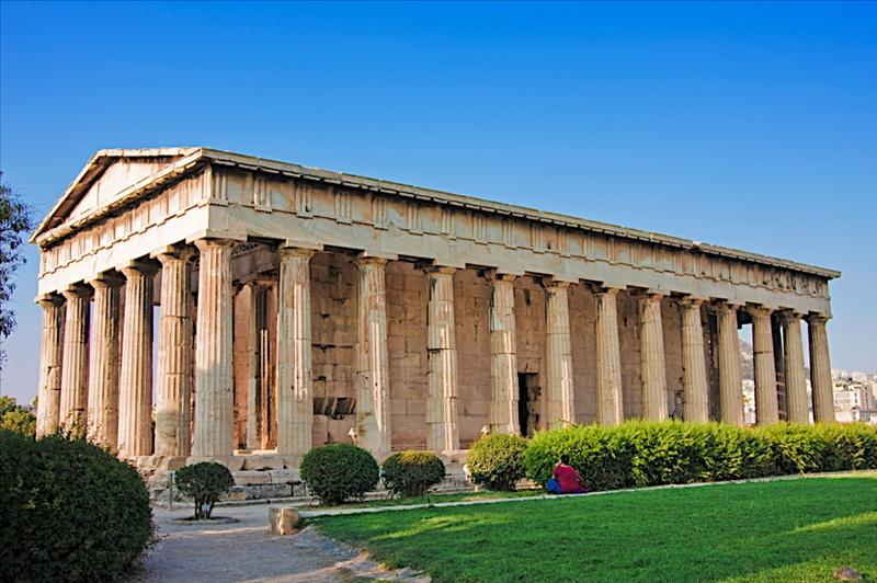 Θησείον (Hephaisteion or Theseion, The Temple of Hephaestus and Athena Ergane)