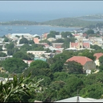 View of Christiansted from our balcony