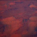 Our first glimpses of Australia from the plane