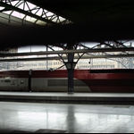 Eurostar Bullet Train station
