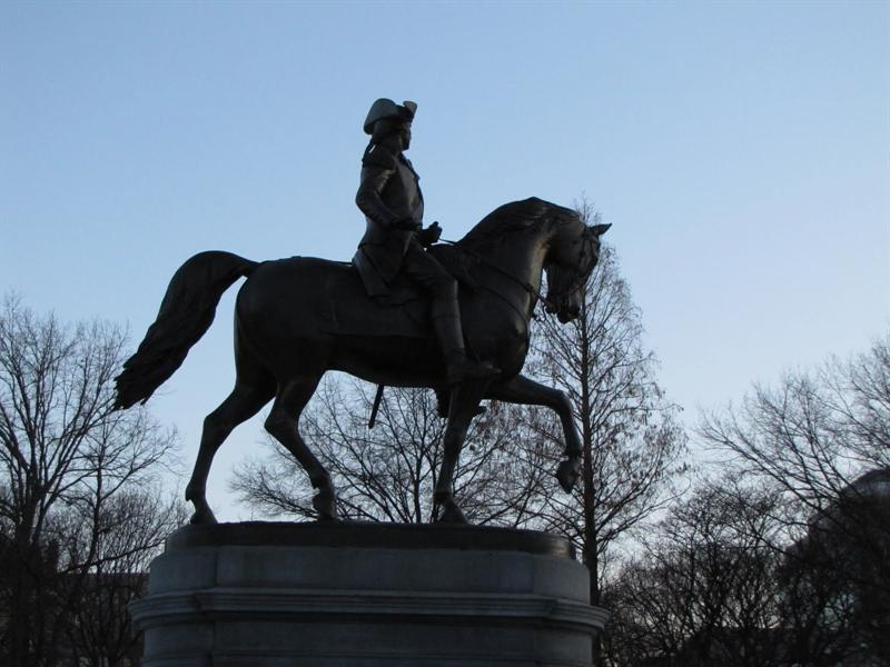 Boston Public Garden - George Washington