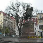 The monument to Danylo Halytskiy