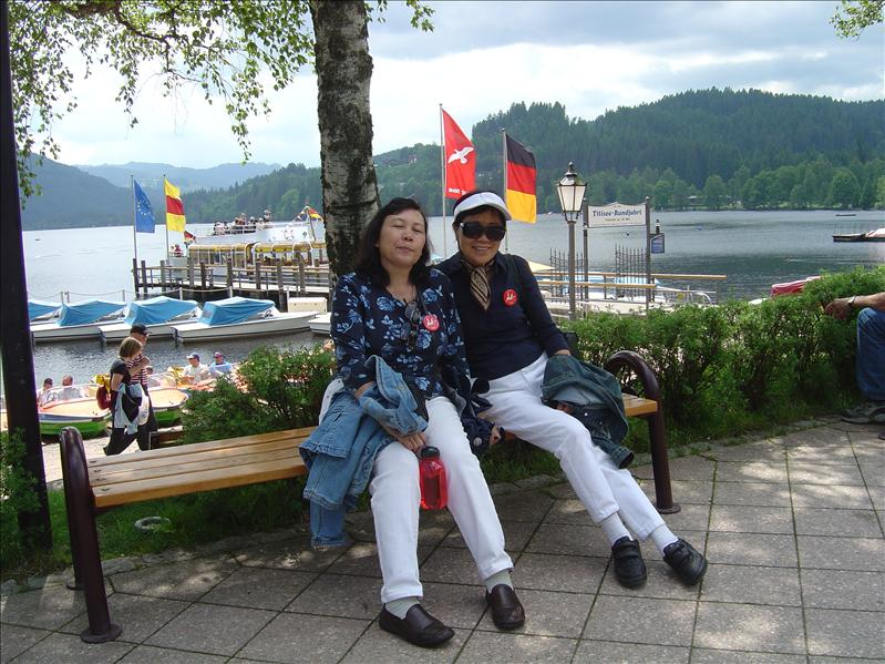Lake Titisee in black forest region(Germany)