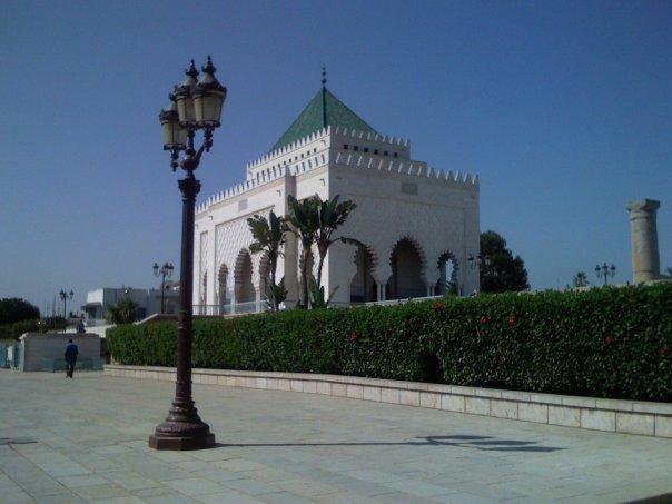 Le mausolé du roi Mohamed V