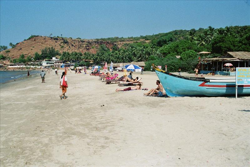 on arambol beach