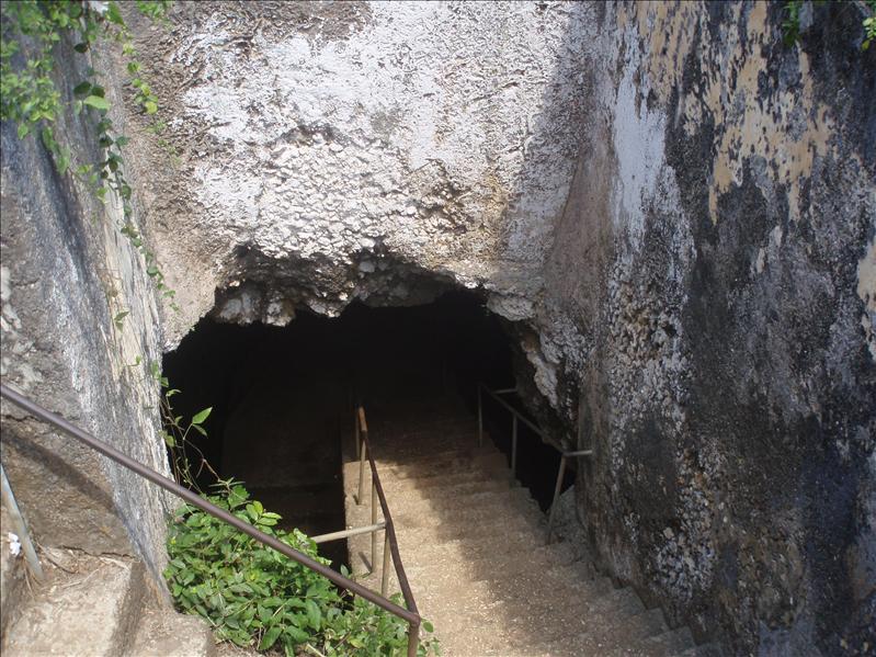Slave cave, Zanzibar