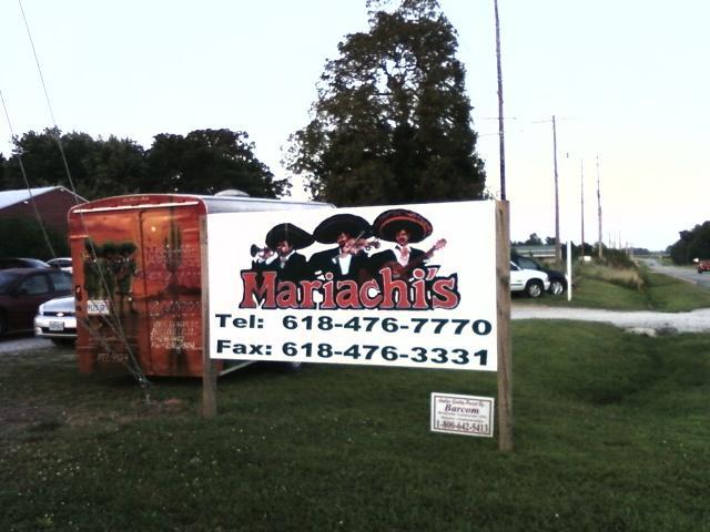 their roadside sign