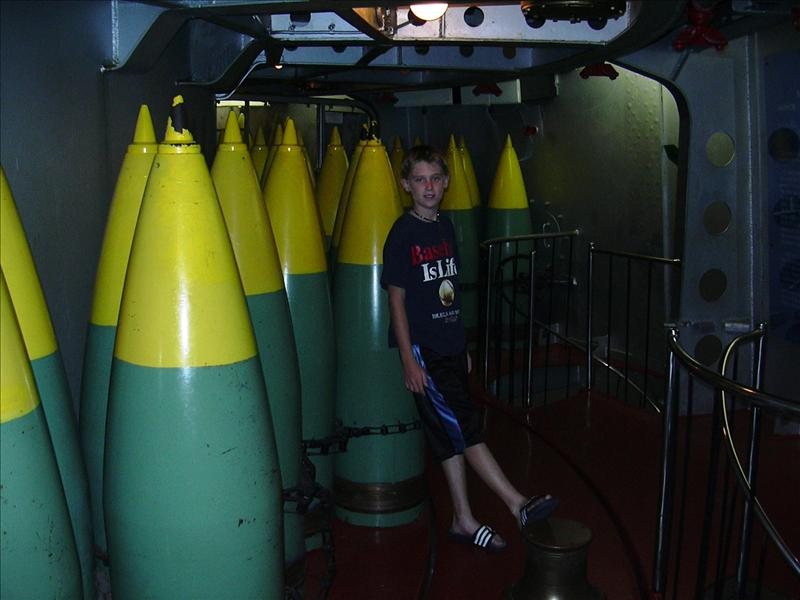 these were BIG shells, the weight of a volkswagon