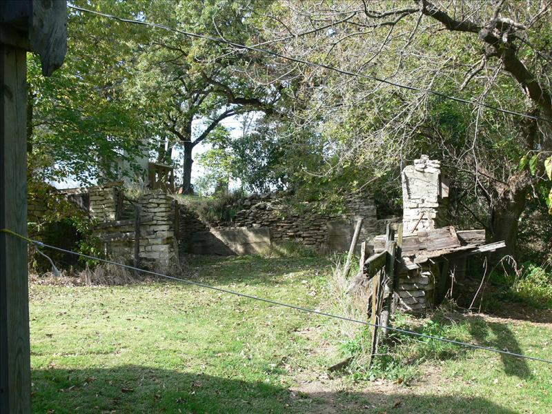 Ruins of Barn near Roseman Bridge