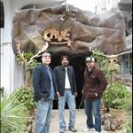 Braden, Me and Rhett outside CAVE ISB