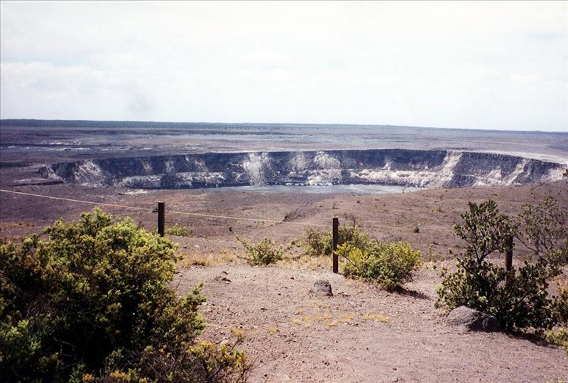 Too close for comfort. Hawaii Volcanoes National Park