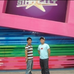 Rg and Pheng infront of Star City