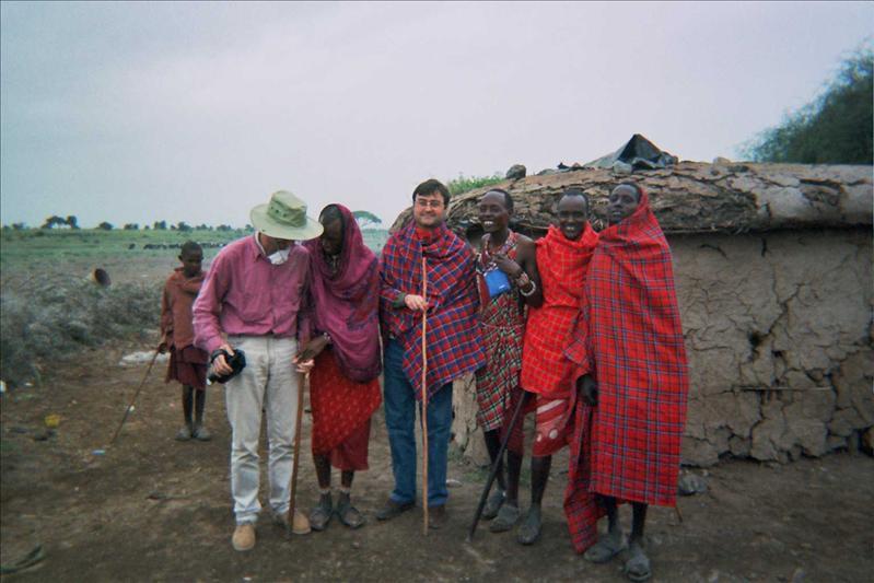 Poblado Masai © Fernando López