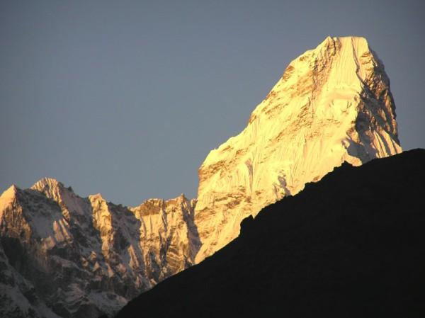 Mt. Amadablam- everest region.