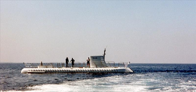 The sub we just took a dive in