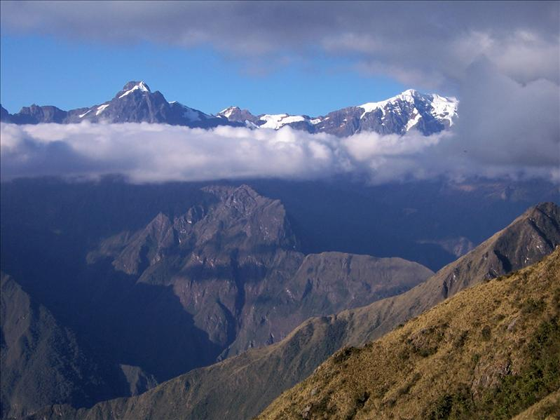 VIEW FROM INKA TRAIL