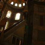 Where the sermon takes place in Ayasofya (St. Sophia)