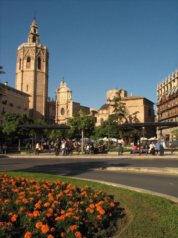 postcard valenciana