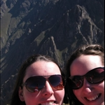 Mel and Laura in Colca Canyon
