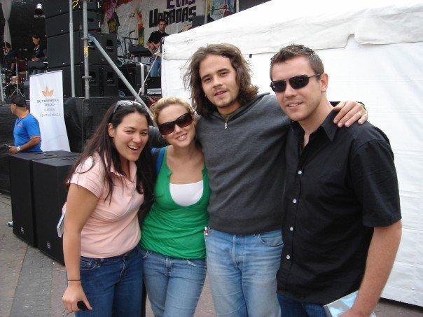 Meeting Moises Gadea - a nicaraguan rock star