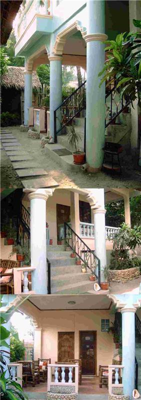 Guesthouse entrance http://www.OceanBreezeInn.info