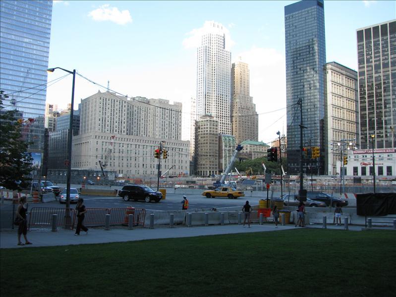 Ground Zero, ongelofelijk groot gebied...