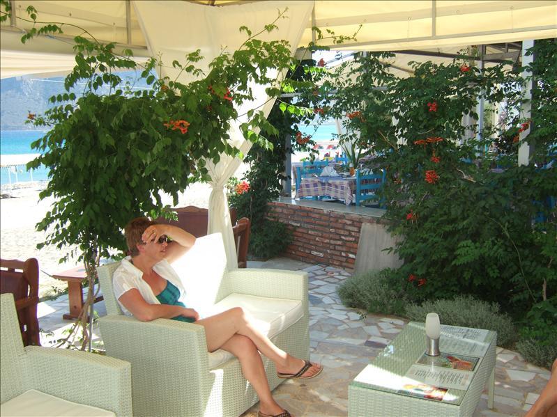 At the Sacallis Hotel, Kefalos Bay