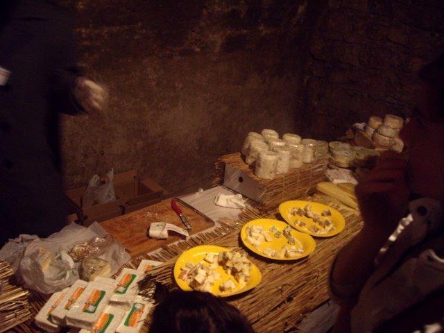 各種乳酪試吃