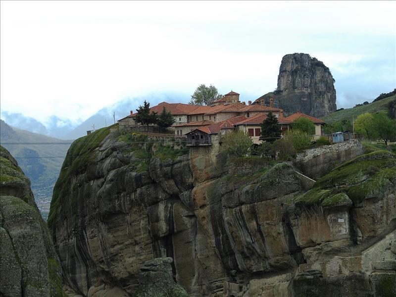 Meteora, Triada Monastery, Greece