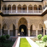 We were most impressed with the Real Alcazar (Royal palace)...