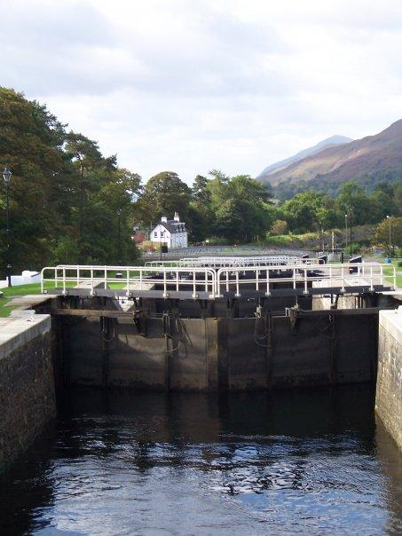 NEPTUNE'S STAIRCASE, CALEDONIAN CANAL, BANAVIE NR FORT WILLIAM, SEPT 2007