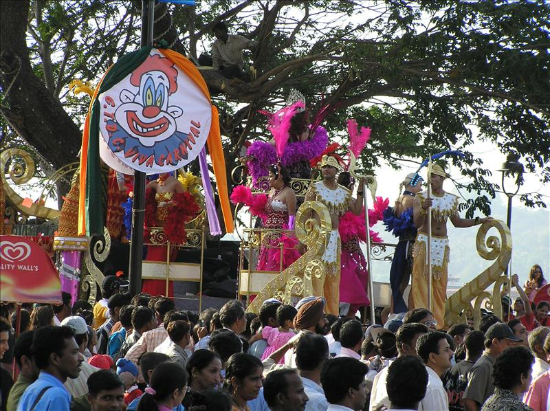 3 days long carnival in Goa