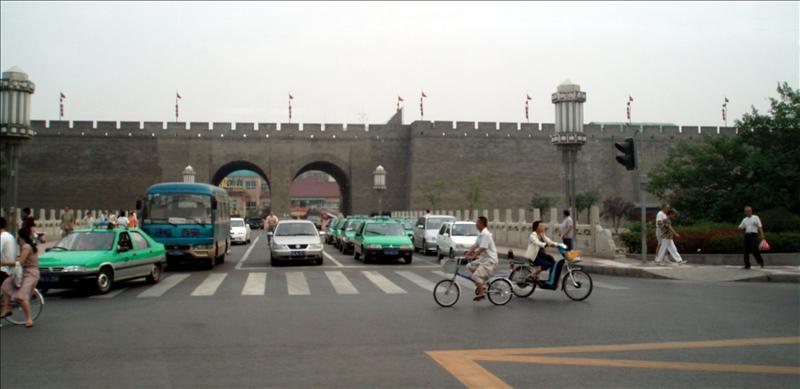 Wall of Xian.