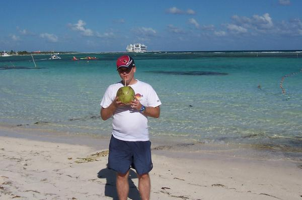 Costa Maya, Mexico during the cruise. What a great trip!