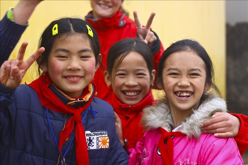 Kids in Sapa