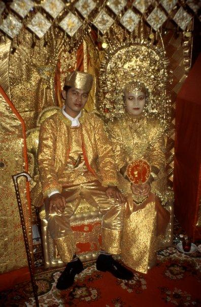MINANGKABAU WEDDING, BUKITTINGGI, SUMATRA, INDONESIA