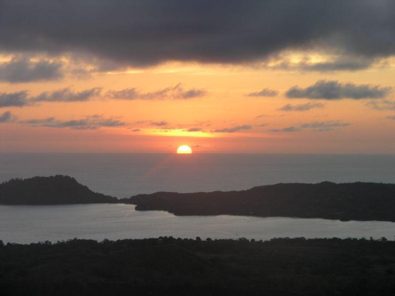 Sunset from Mont Passot-Nosy Be