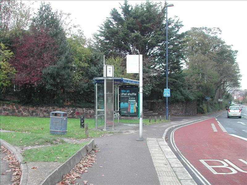 Bus stop Purbrook England